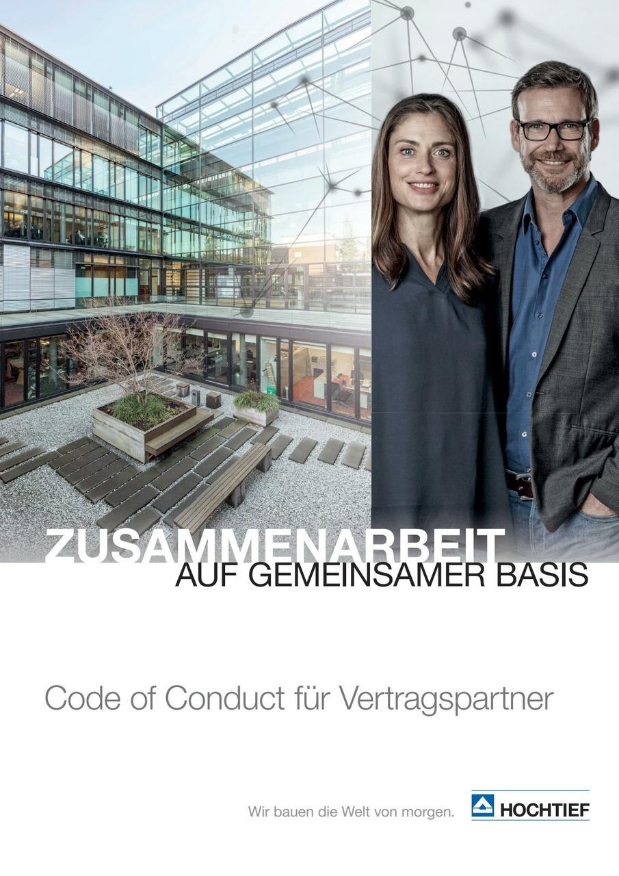 HOCHTIEF Code of Conduct für Vertragspartner (deutsche Ausgabe)