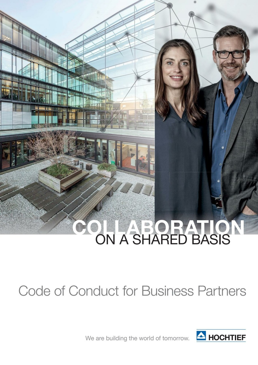 HOCHTIEF Code of Conduct for Business Partners (English edition)