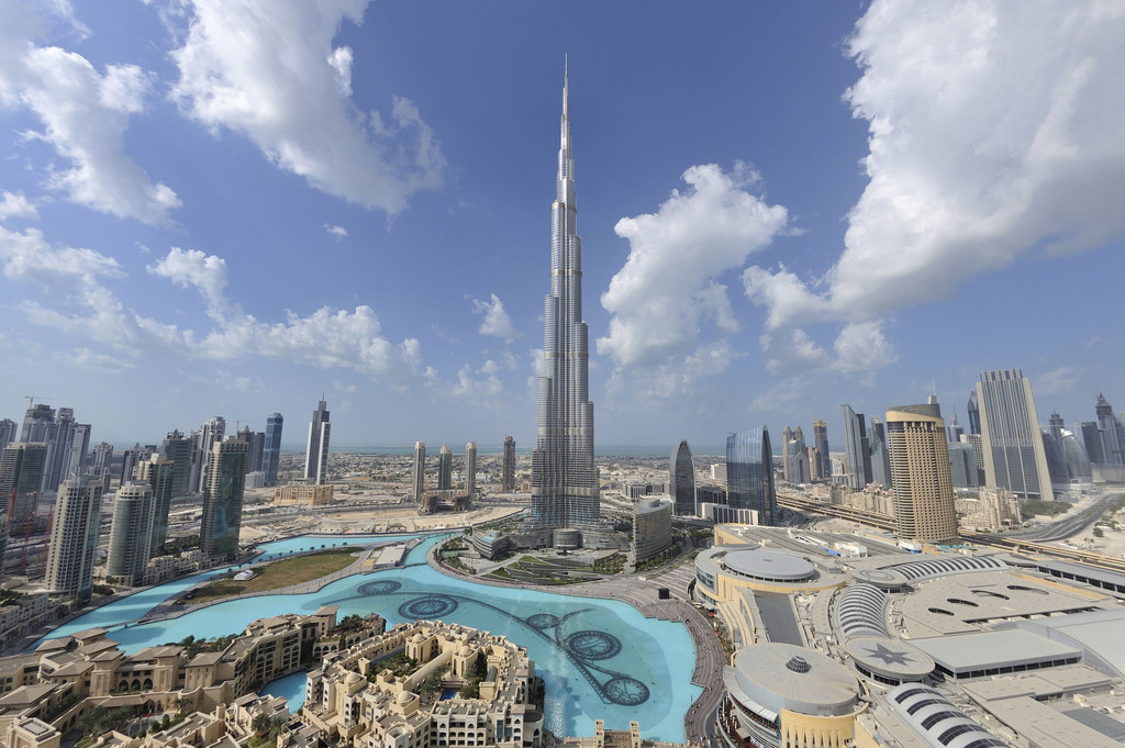World's tallest building completed