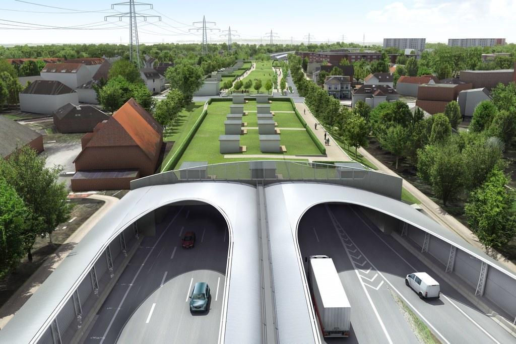 Sechsspurig Richtung Norden: Wir bauen die A7 bei Hamburg aus.