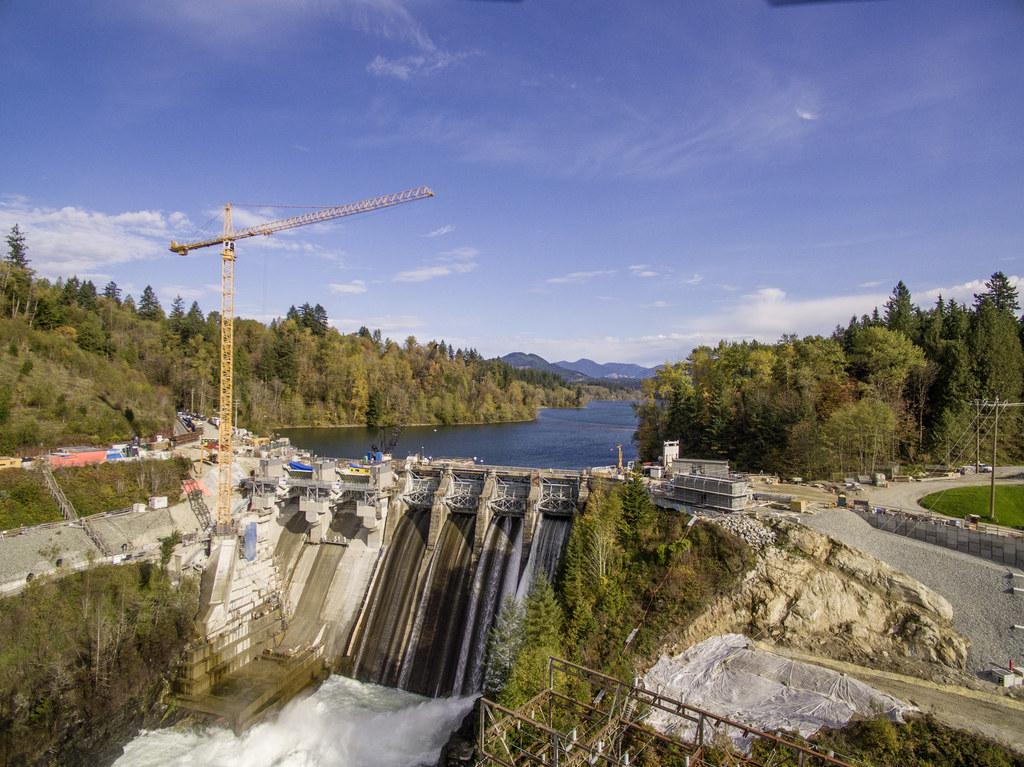 Ruskin dam, BC, Canada