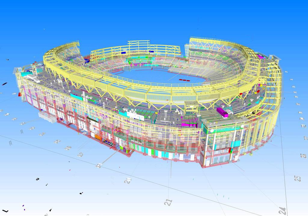 Für Turner gehört das Yankee-Stadion in New York zur ersten Generation von Großprojekten, bei denen die BIM-Technologie (Building Information Modeling) zum Einsatz kam.