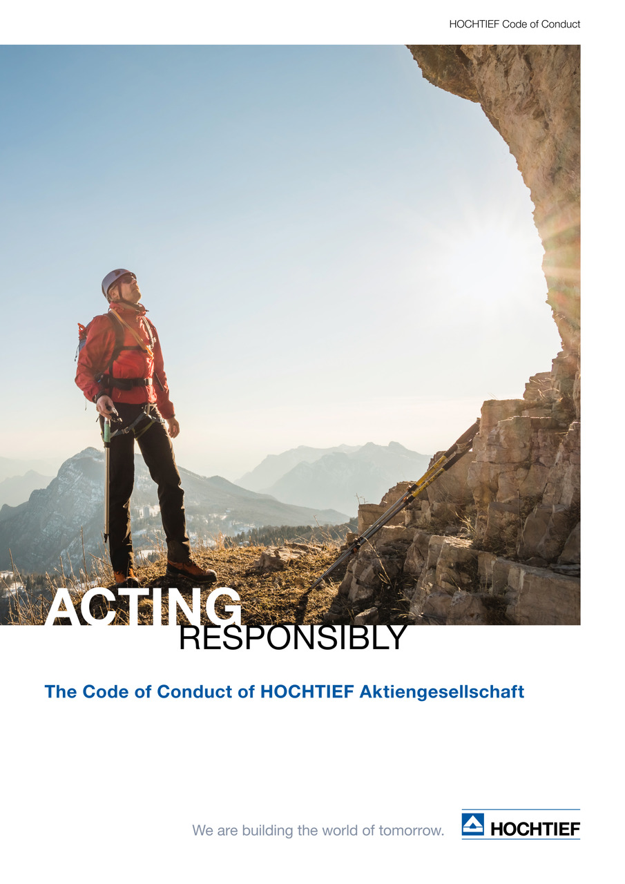 HOCHTIEF Code of Conduct (English edition)