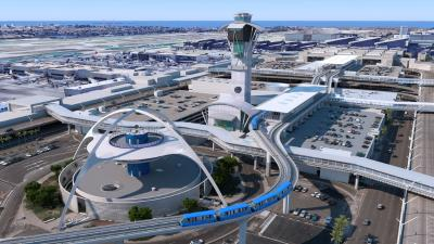 Automated People Mover (APM), Flughafen Los Angeles International (LAX)